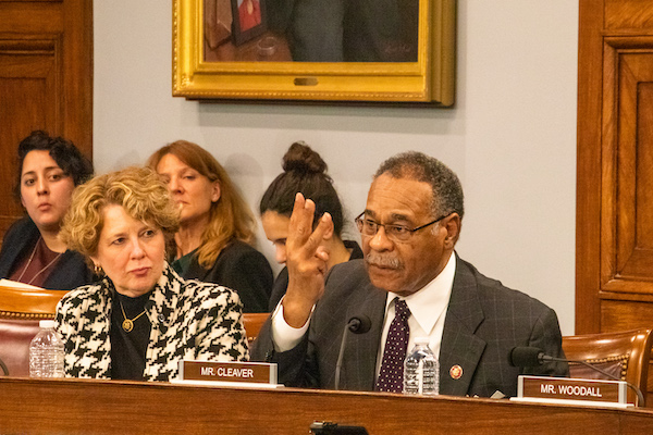 Image 10.3: Rep. Emanuel Cleaver discusses Member-directed spending during a Select Committee hearing